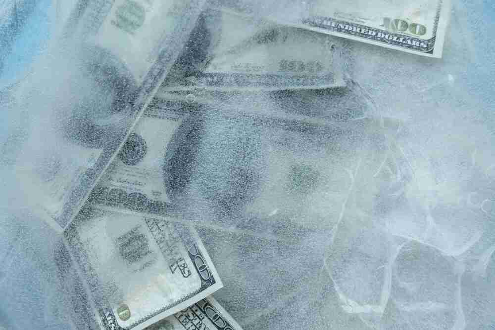 how long can a bank freeze your account for suspicious activity