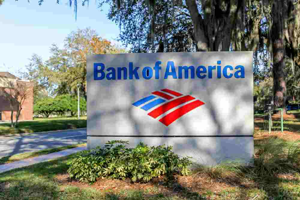 Bank of america hours today