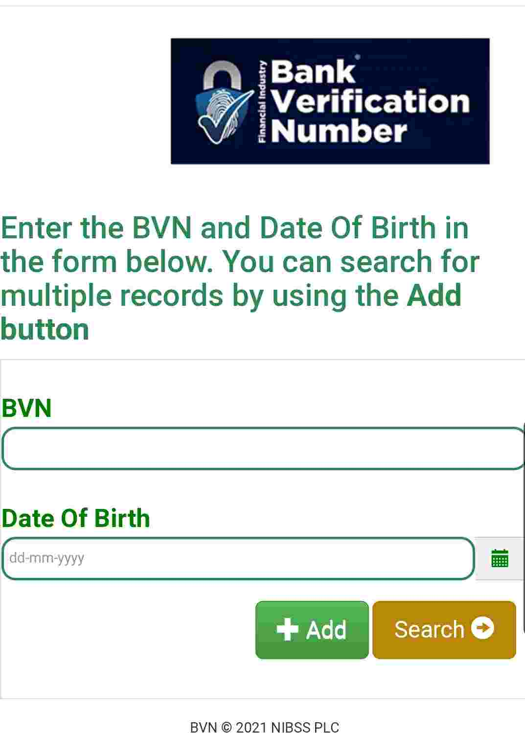 how to check my bvn name