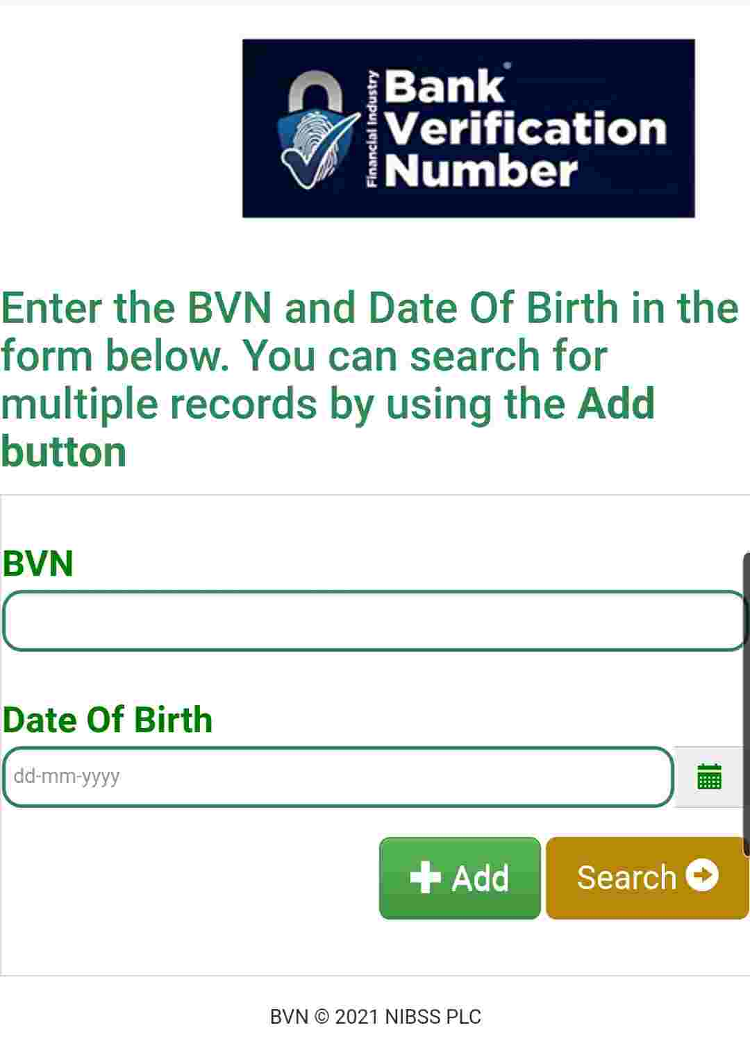 how to check my bvn date of birth online