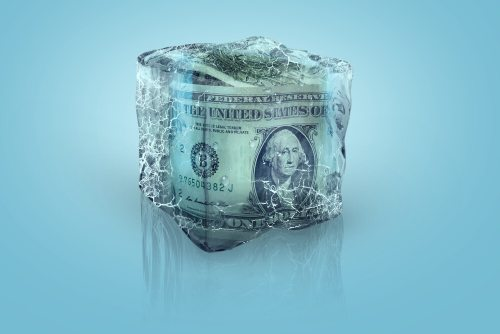 Can you close a frozen bank account