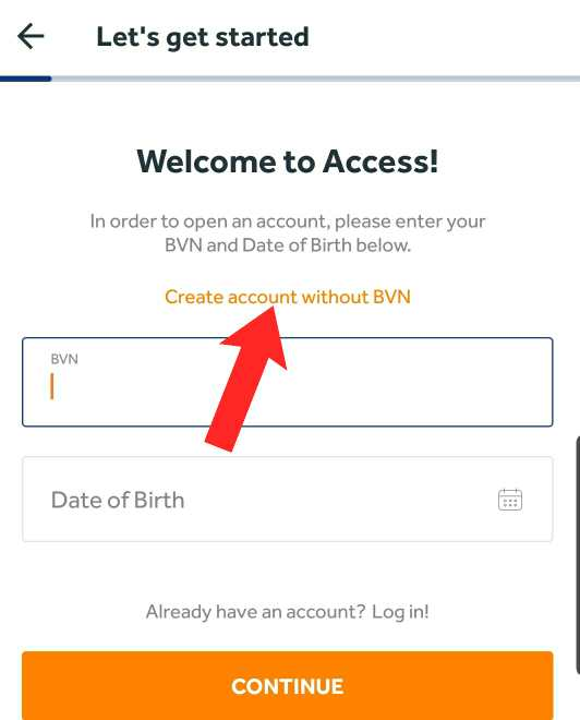 how to open bank account on phone